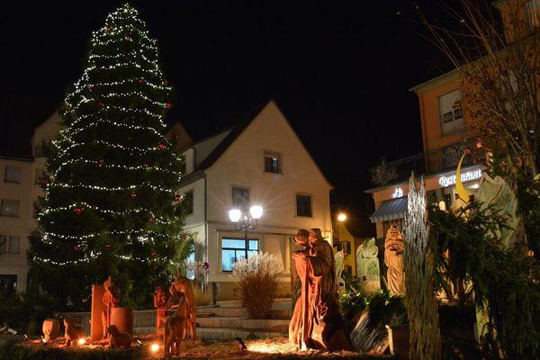 Chaque année, Niederbronn-les-Bains trouve aisément son sapin de Noël. Mais en 2019... ça coince.