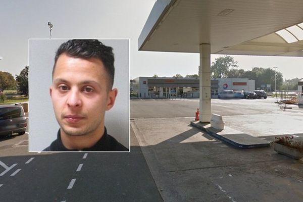 Salah Abdeslam a été identifié sur cette aire de repos le lendemain des attentats.