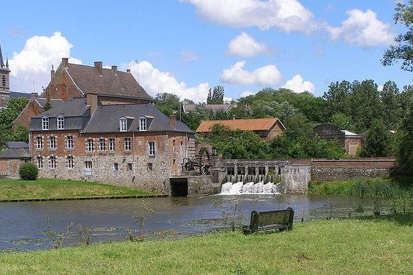 Maroilles, le village.