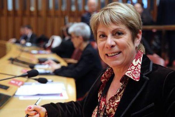 France Jamet, présidente du groupe FN