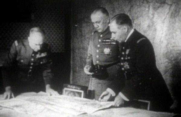 L'Etat-major allié.