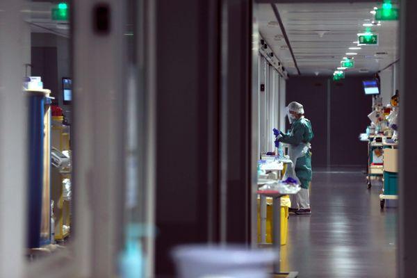 Au sein de l'hôpital Nord Franche-Comté de Trévenans (Territoire de Belfort), en avril 2020. (archives)