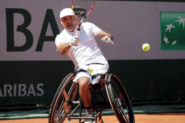 Stéphane Houdet en 2014 à Roland-Garros