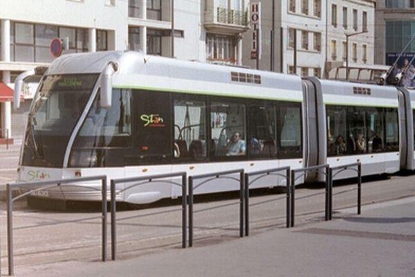 Le tramway de Nancy