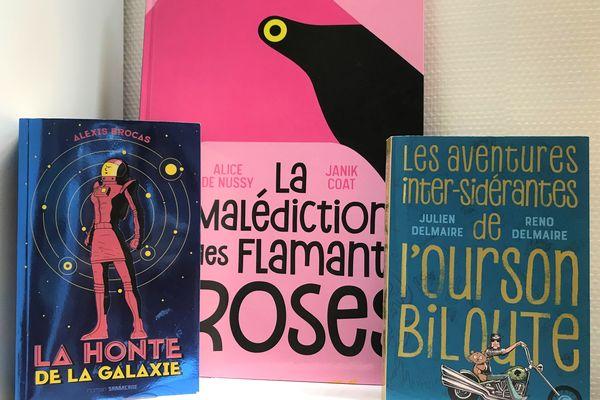 3 livres pop et hilarants