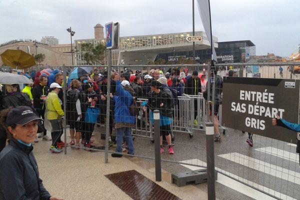 Le départ du 10km Run in Marseille