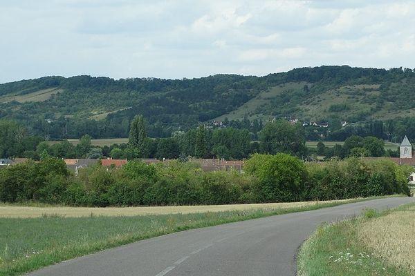 Dans l'Eure, sur la route de Giverny, le Vexin connaîtra un SAMEDI très nuageux.
