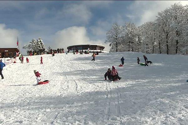 La station de ski le Prat Peyrot a ouvert ses portes ce samedi 28 janvier