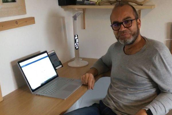 Franck Drapin, co-fondateur de la plateforme Yonne 100% Inclusion