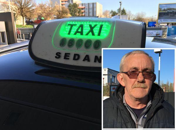 Pour Michel Lecomte, chauffeur-taxi depuis peu, la situation est inédite et incertaine. Son taxi ne roule pratiquement plus