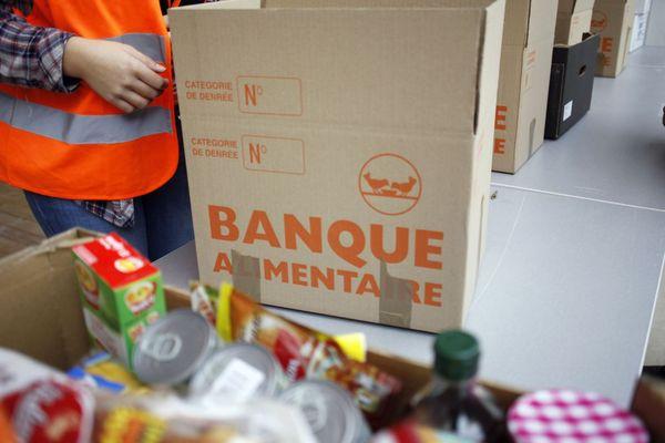 Les voleurs se sont aussi servis dans les stocks de la Banque alimentaire.