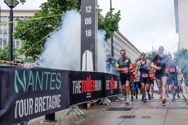 La Tower Run à Nantes le 12 juin 2016