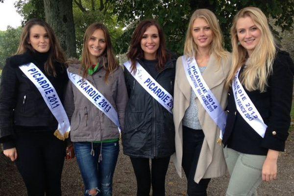 Les miss Picardie à Saint-Valéry-sur-Somme