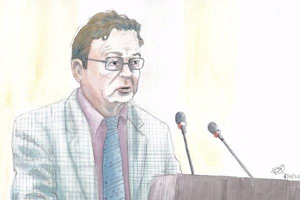 Jacky Kulik, lors du procès de Willy Bardon le 4 décembre.