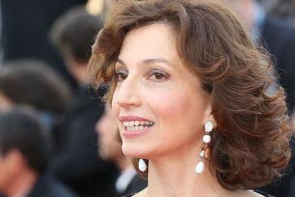 La ministre de la Culture Audrey Azoulay au festival de Cannes, le 11 mai 2016.
