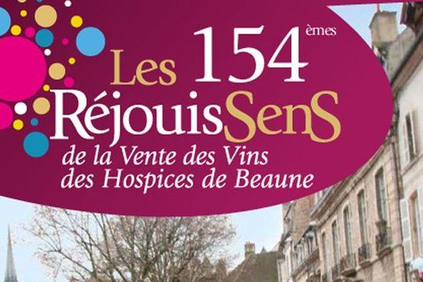 Les RéjouisSens accompagnent la vente des vins des Hospices de Beaune de vendredi 14 au dimanche 16 novembre 2014.
