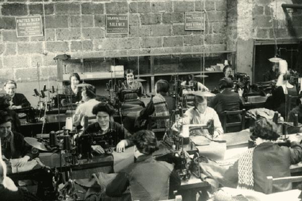 Atelier de confection le Glazic 1930 - Archives municipales de Quimper