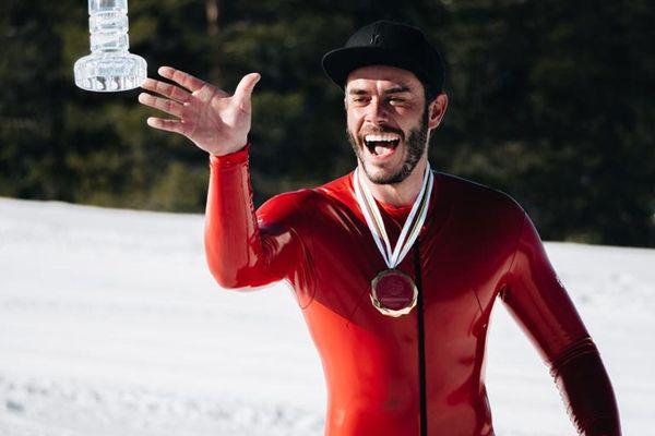 Simon Billy a remporté trois étapes de la Coupe du monde de ski de vitesse en Suède.