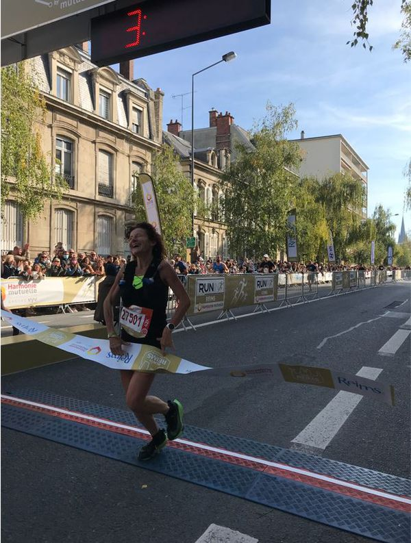 Brigitte Martini remporte le marathon 2021 chez les femmes