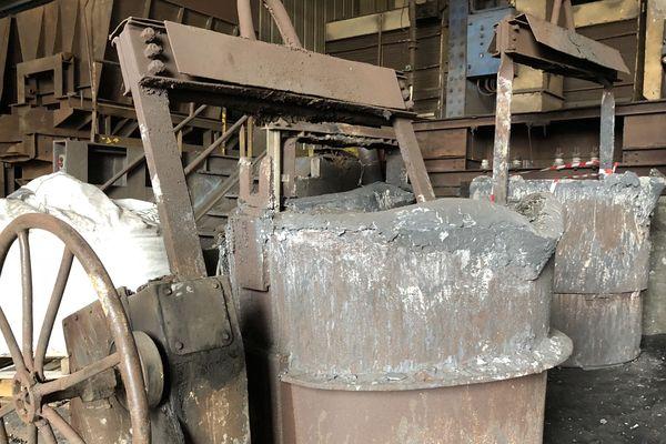 L'usine sidérurgique a fonctionné durant 171 ans. Aujourd'hui, il reste les vestiges de ce passé industriel.