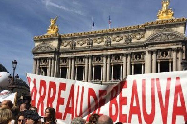 Les avocats de Beauvais à la manifestation nationale à Paris