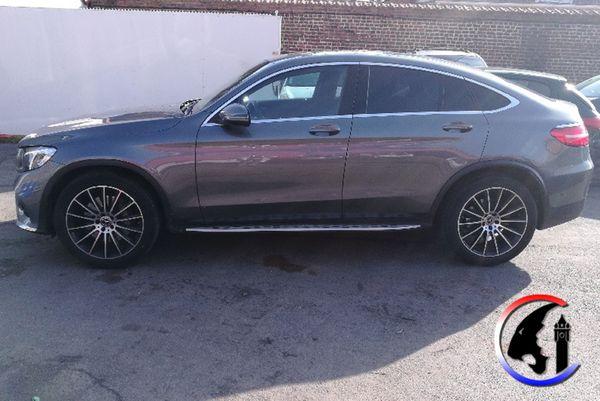 Une Mercedes GLC a été saisie par la police judiciaire.