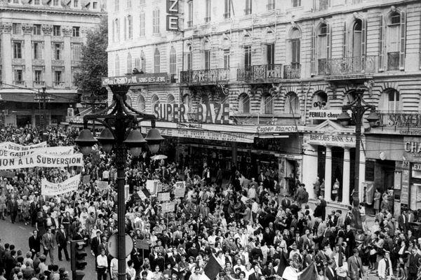 A Marseille aussi, la mobilisation de mai 68 a été très forte.