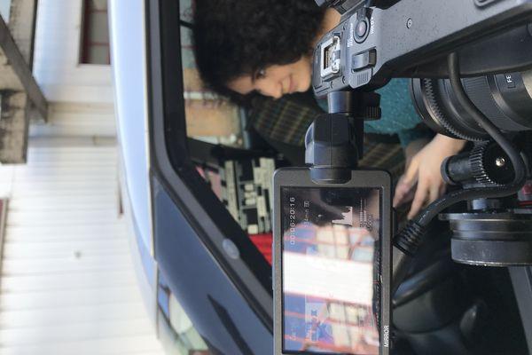 Les coulisses du tournage.