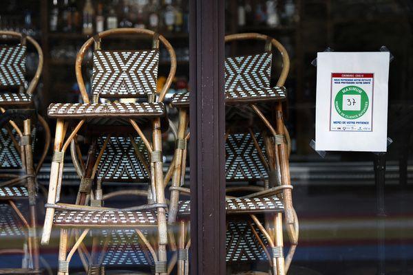 En Occitanie, 2 872 chefs d'entreprise dont les trois quart des restaurateurs ont perdu leur emploi en 2020 selon l'Observatoire GSC/Altares.