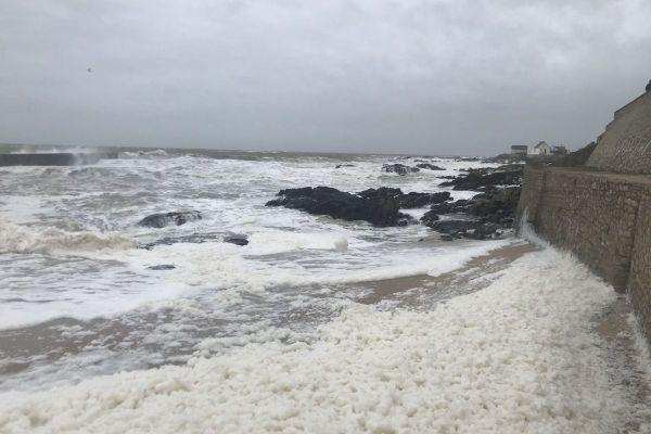 Tempête à Batz-sur-Mer