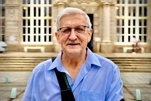 Emile Roger Lombertie (LR), élu pour la seconde fois maire de Limoges le 28 juin 2020