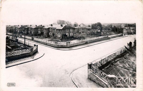 La Cité Jardin de Beaublanc dans les années 1920