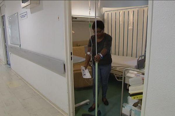 A Marseille, l'hôpital de la Timone traite de nombreux patients