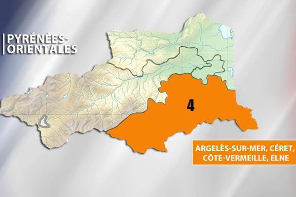 Législatives - 4e circonscription des Pyrénées-Orientales