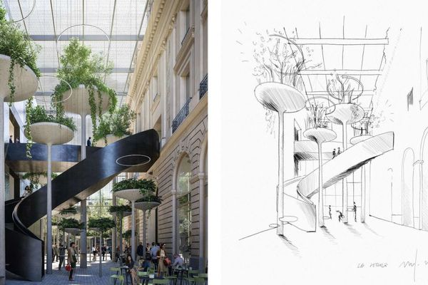 """Le futur palais du commerce se veut un bâtiment être """"accueillant, ouvert et multifonctionnel"""""""