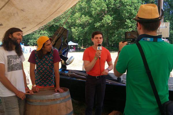 Interview des Naive New Beaters sur le festival Terres du Son