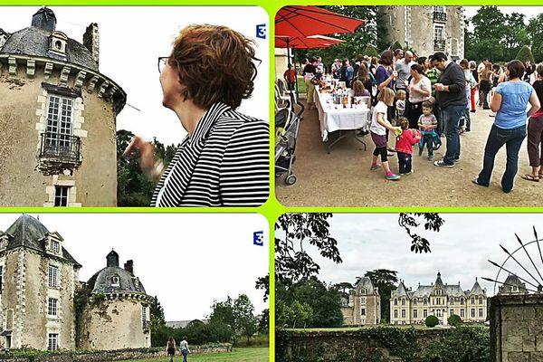 Opération de mécénat électronique pour sauver le Château à Vair.