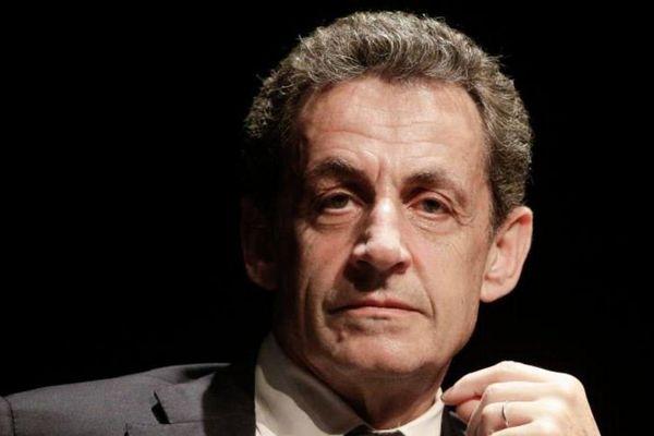 L'ancien président Nicolas Sarkozy lors d'un rassemblement à Arcachon (Gironde), le 23 juin 2016.