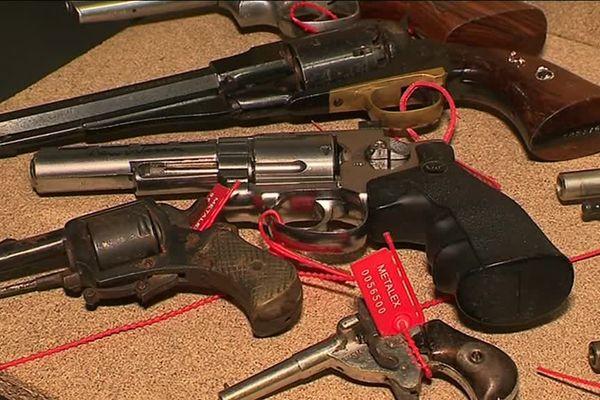 C'est dans un lieu tenu secret que plus de 4000 armes vont être détruites. Des saisies réalisées par la police et la gendarmerie du Grand-Est.