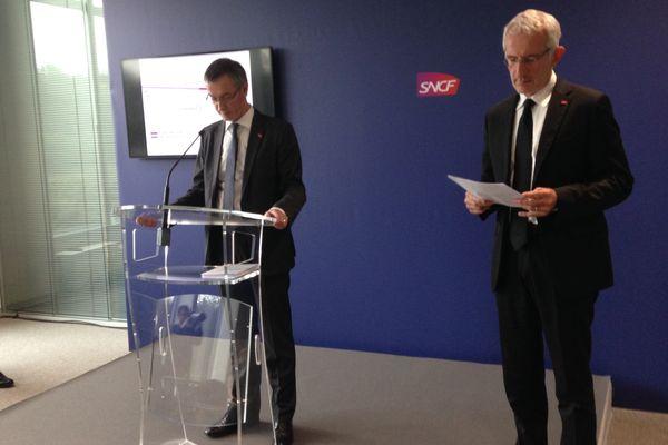 Conférence de presse de la SNCF ce jeudi à Paris