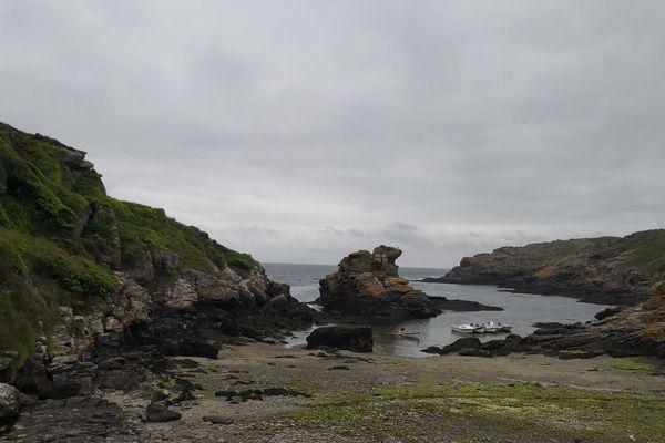 Sur l'île de Groix