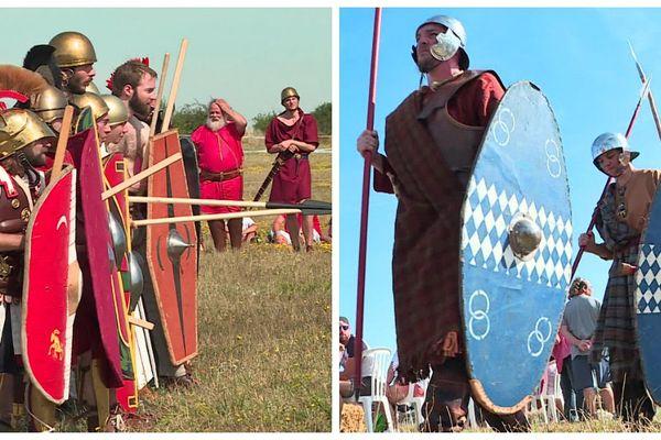 Une bataille géante à Gisacum dans l'Eure