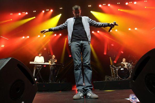 Pihpoh, le rappeur belfortain a joué sur la scène de l'Olympia. Photo d'archives.