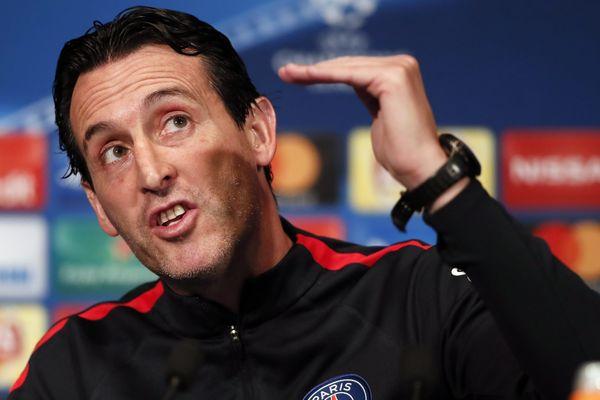 L'entraîneur du PSG, Unai Emery.