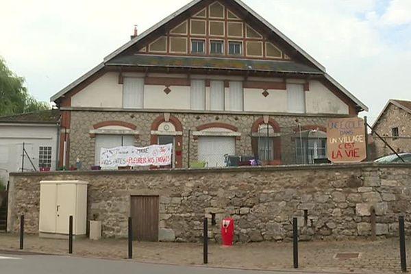 L'école de Chaumuzy est menacée de fermeture / 11 juin 2018