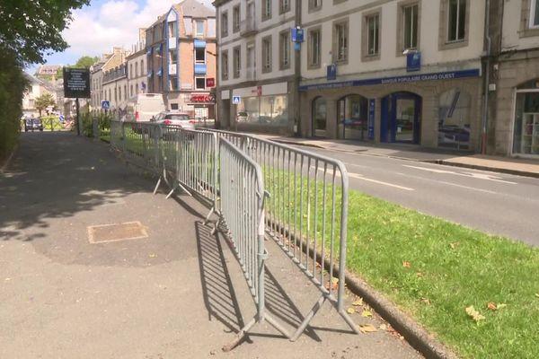 C'est en plein centre-ville de Lannion, vers le quai d'Aiguillon, que les policiers ont été pris à partie par un groupe de jeunes ce 21/06/2020