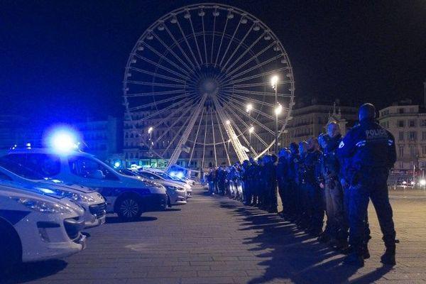 Manifestation de policiers à Marseille - 18/10/2016