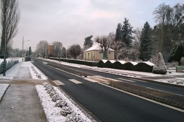 A La Roche-Posay, mercredi matin.