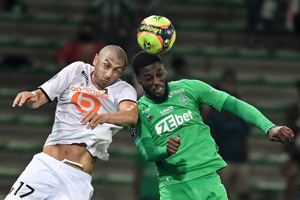 Les équipes de Saint-Etienne et Lille se sont quittés sur un match nul 1 à 1