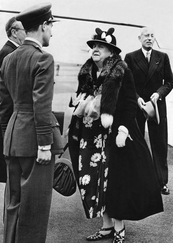 La reine Wilhelmine des Pays-Bas en 1946.